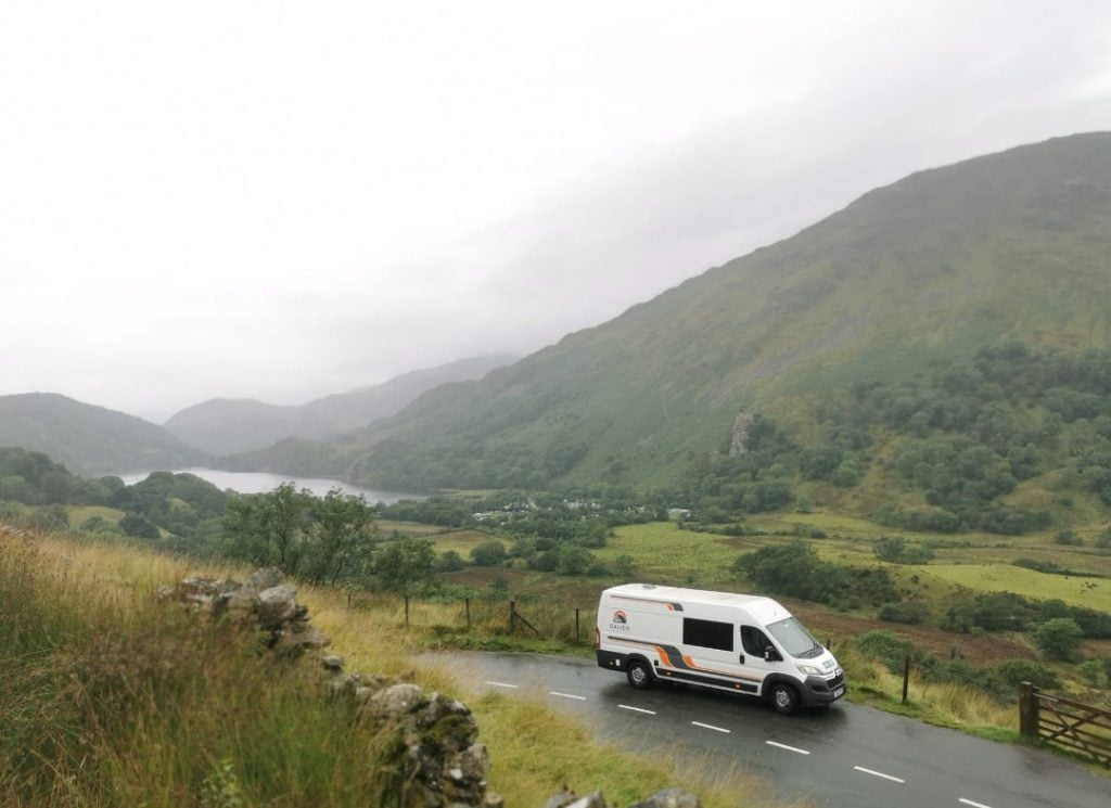 The Road Home - A470 parked up